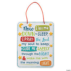 Bedtime Prayer Sign Craft Kit