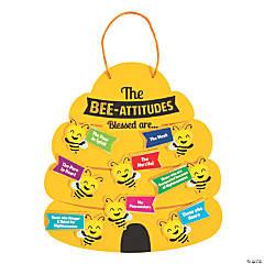 Bee-Attitude Sign Craft Kit