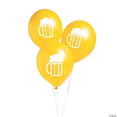 "Beer Mug 11"" Latex Balloons"