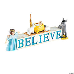 Believe Nativity Blocks