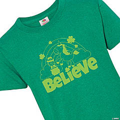 Believe St. Patrick's Day Youth T-Shirt - Extra Small