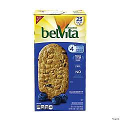 BELVITA Breakfast Biscuits Blueberry 4-Packs, 25 Count