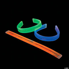 Bendable Halloween Glow Bracelets