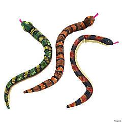 Bendable Stuffed Snakes