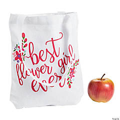 Best Flower Girl Ever Tote Bag