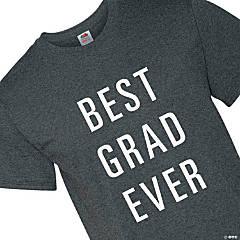 Best Grad Ever Adult's T-Shirt - Medium