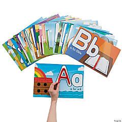Bible Alphabet Letter Learning Mats