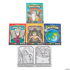 Bible Story Coloring Book Assortment