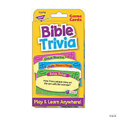 Bible Trivia Challenge Cards