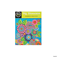 Big Blossoms Adult Coloring Book