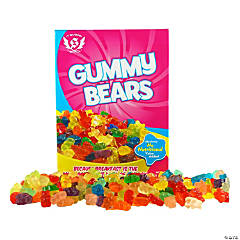 Big (Perfect Size) Gummy Teddy Bears Chewy Candy Box