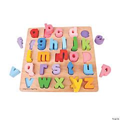 Bigjigs Toys Chunky Alphabet Jigsaw Puzzle, Lowercase