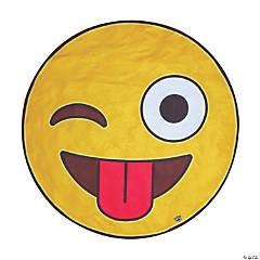 BigMouth® Crazy Emoji Beach Towel