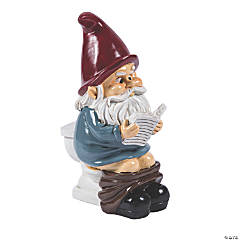 BigMouth® Garden Gnome on a Throne