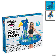 BigMouth® Giant Inflatable Peacock Pool Float