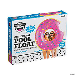 BigMouth® Giant Inflatable Pink Donut Pool Float