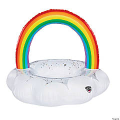 BigMouth® Giant Inflatable Rainbow Pool Float