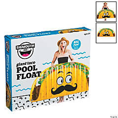 BigMouth® Giant Inflatable Taco Pool Float