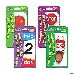 Bilingual English & Spanish Flash Card Set