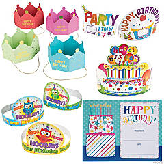 Birthday Crowns & Certificates for 100