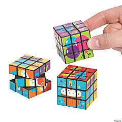 Birthday Puzzle Cubes