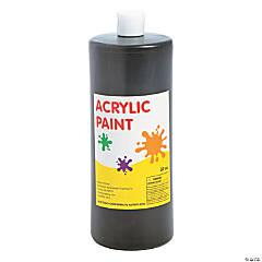 Black Acrylic Paint