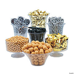 Black & Gold Candy Buffet Assortment