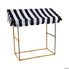 Black & White Awning Tabletop Kit