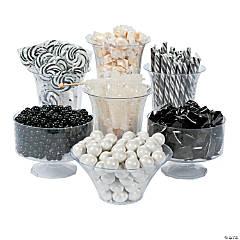 Black & White Candy Buffet Assortment