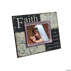 Black and White Faith Picture Frame
