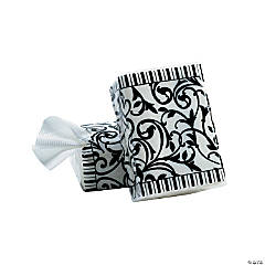 Black And White Wedding Facial Tissue Packs