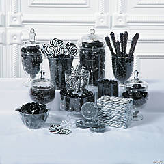 Black Candy Buffet Supplies