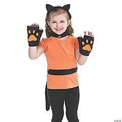 Black Cat Accessories Set