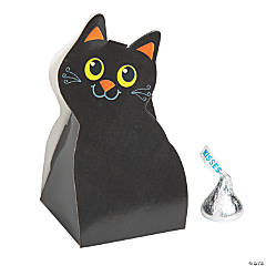 Black Cat Favor Boxes