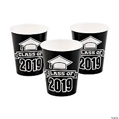 Black Class of 2019 Cups