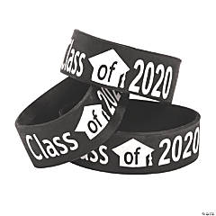 Black Class of 2020 Big Band Bracelets