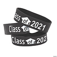 Black Class of 2021 Big Band Bracelets