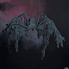 Black Creepy Cloth Foam Spider