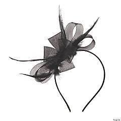 Black Derby Fascinator Headband
