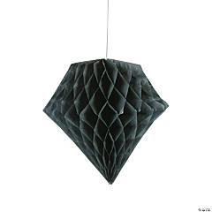 Black Diamond Tissue Paper Hanging Decorations