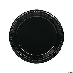 Black Dinner Plates