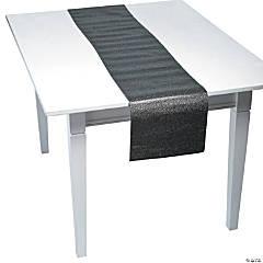 Black Glitter Table Runner