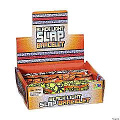 Black Light Slap Bracelets
