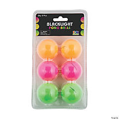 Black Light Table Tennis Balls