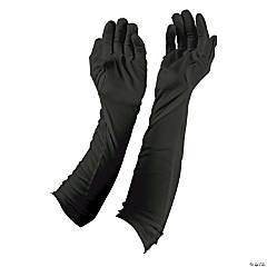 Black Long Evening Gloves