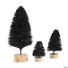 Black Sisal Tree Assortment