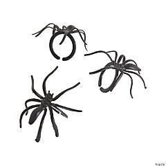 Black Spider Rings