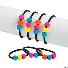 Black Spiral Beaded Bracelets