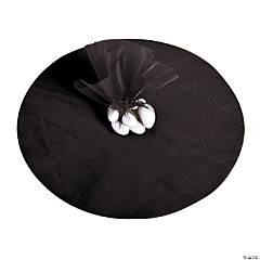 Black Tulle Circles