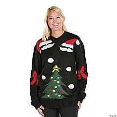 b0f062d7301 Black Ugly Christmas Sweater